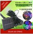 150LED 17M Solar string lights led landscape lighting outdoor garden lights outdoor waterproof  lights of home lawn garden