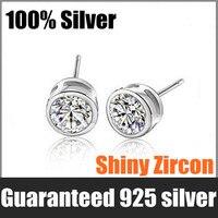 """оптовая продажа 100% реального чистый 925 серебра """"вас в моем сердце""""-колье серьги браслет"""
