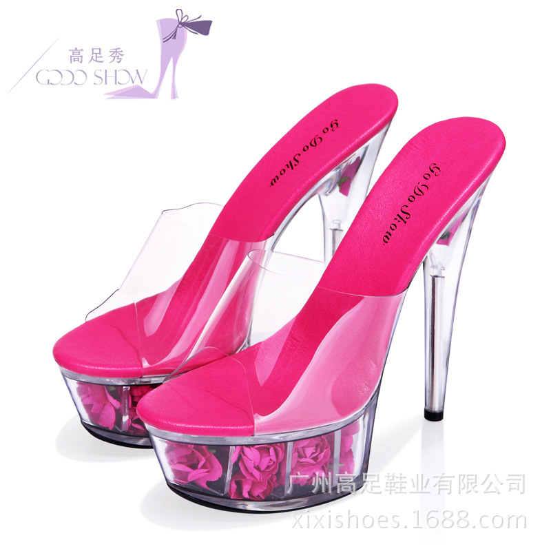 62779ca3 De Red Plataforma Mujeres Boda Sandalias Impermeables Colores Súper Altas 15  Cm 8 rosy blanco oro rosado Zapatos Mujer Transparente Sandalia Negro ...