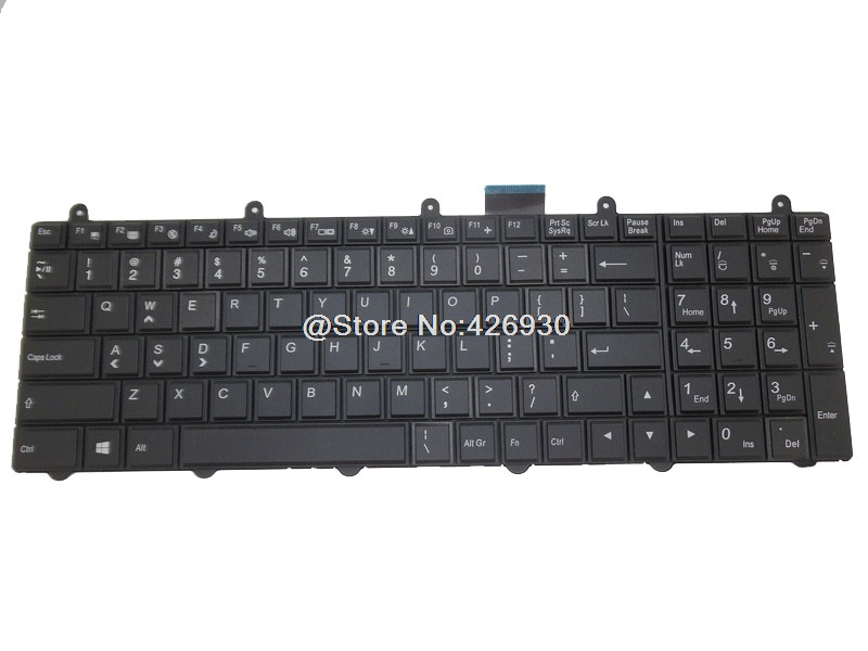 Laptop Keyboard For CLEVO V132150BK1 6-80-P2701-011-3 V132150BK3 6-80-P17S1-010-3 United States US  With Backlit laptop keyboard for clevo w650sf w651sf w655sf black without frame italian it
