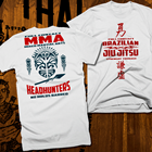 ✔  Бразильская футболка джиу-джитсу Тайский бокс 2-сторонняя печать MMA kickbox Fight Club ①
