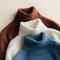 Womem's Sweaters and Pullovers Turtleneck 100% Cashmere Knitting Jumpers Woman Winter Pure Pashmina Woman Standard Clothes Tops