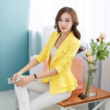 NF Candy Color Slim Suit Women Solid Color Blazer