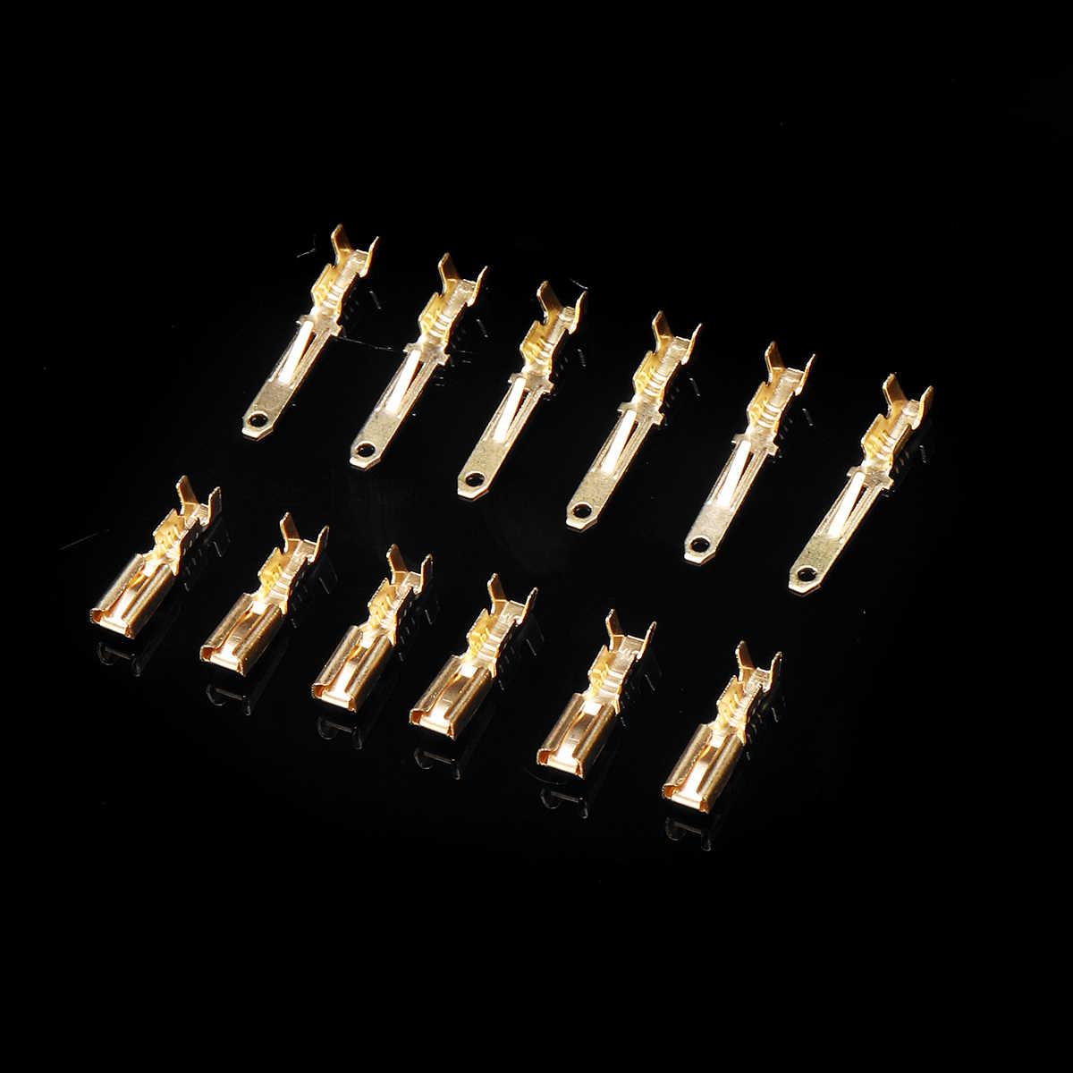 40 комплект Авто Электрические терминальные 2,8 мм на возраст 2, 3, 4, 6, 9 Pin кабель провод 380 шт. авто разъем для автомобиля, мотоцикла, Применение терминалы комплект