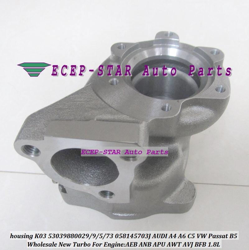 Turbine housing K03 29 53039880029 53039700029 058145703J Turbo For AUDI A4 A6 C5 VW Passat B5 1.8T AEB ANB APU AWT AVJ BFB 1.8L k03 53039880005 53039700005 058145703k turbo turbocharger for audi a4 a6 for volkswagen vw passat 90 aeb anb apu awt 1 8t 1 8l