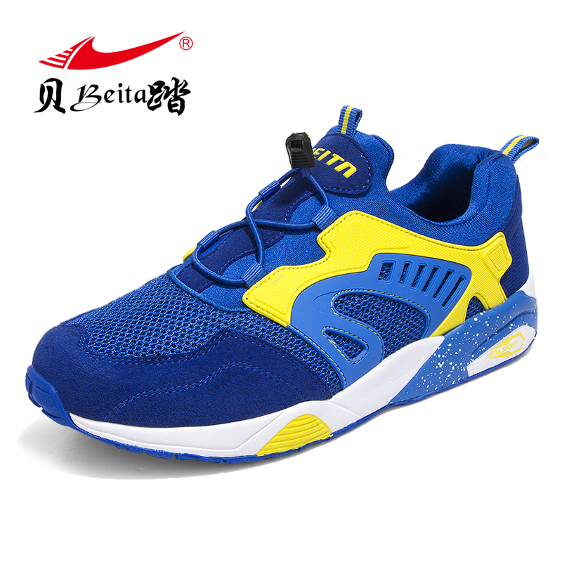 BEITA New Products Net Surface Breathable Running Shoes Men Light Running Shoes Sneakers Athletic Men's Sports Shoe SIZE39-46 купить