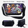 2017 Cartoon Bag Kingdom Hearts Messenger Canvas Bag Shoulder Bag Sling Pack School Bags 43*27*11CM