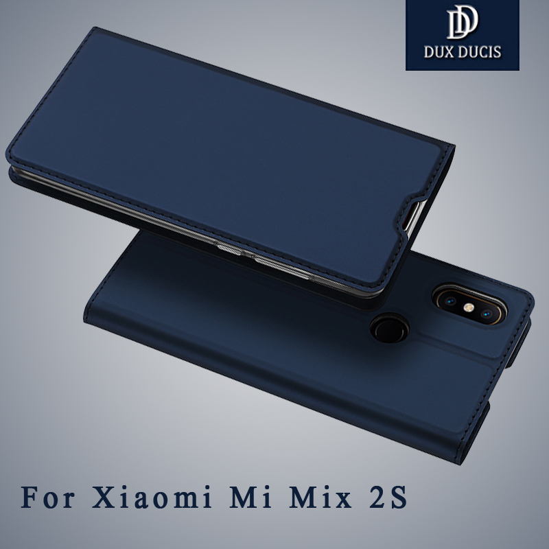 Dux Ducis For Mi Mix 2 Case Wallet Leather Cover Mix 2 S Case Mix2 Mix2s