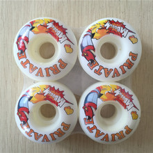 PRIVATE 51mm52mm SKATEBOARD WHEELS  4pcs/Set Pro stock wheels for special offer with good price COLOR CHANGED NOW
