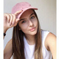2016 Fashion Brand snapback Baseball Cap Women Gorra cap Street Hip Hop Caps Suede Hats for Ladies Black Grey Baseball Cap