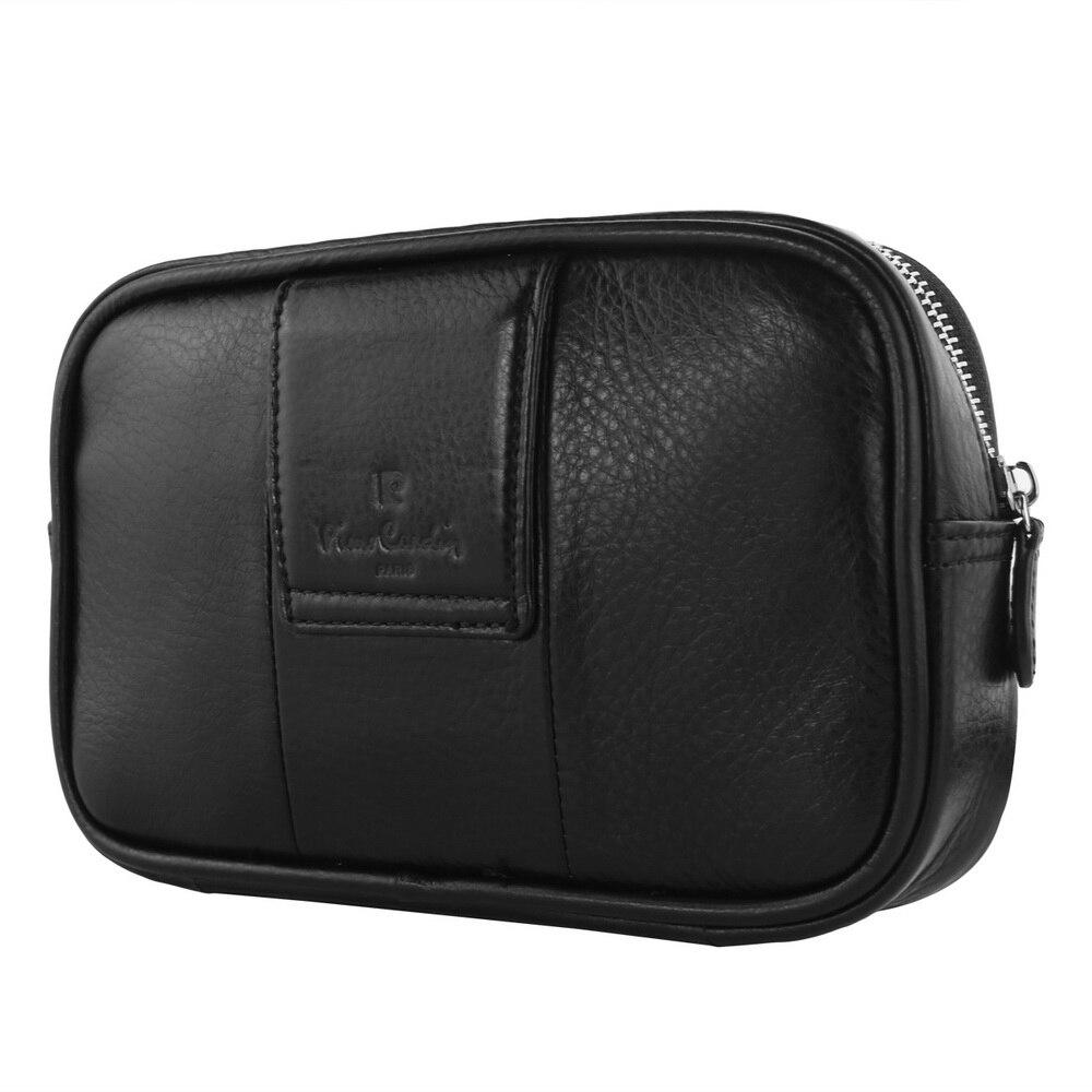 Pour iPhone X 8 7 6 S 6 étui Pierre Cardin en cuir véritable étui de ceinture housse de téléphone sac pour iPhone 7 + 8 + coque de téléphone portable