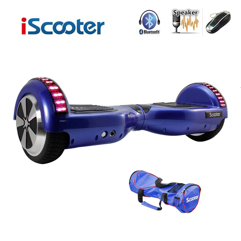 Bluetooth Hoverboard Electric Skateboard 2 Wheels Smart steering wheel Self Balance Scooter Balance Hover board with LED UL2272