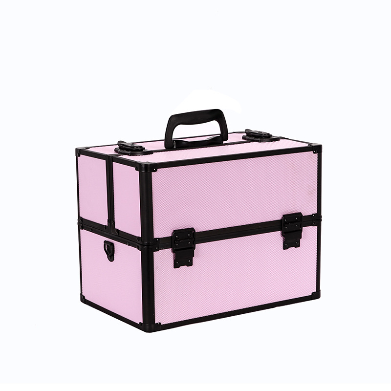Women Large Capacity Professional Makeup Organizer Fashion Toiletry Cosmetic Bag Multilayer Storage Box Portable Pretty Suitcase travel beauticians professional cosmetic makeup bag large capacity beauty organizer women portable makeup storage box neceser