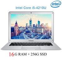 Intel Core i5 4210U 8G RAM 128/256/512/1024 G SSD 500/1000G SSD 14 laptop