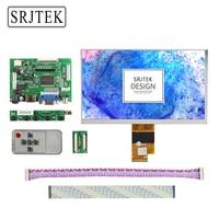 Srjtek 7 Inch LCD Display Screen 1027 600 EJ070NA 01J Monitor Remote Driver Board 2AV HDMI