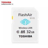 東芝w-無線lan sdカード32ギガバイトクラスflashairメモリカードフラッシュカード用デジタルカメラ、無線lan