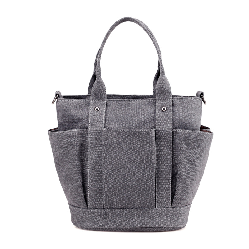 Canvas Women Handbag Casual Large Capacity Hot Sell Female Luxury Designer Shoulder bag High Quality Vintage Travel Tote Bags high quality authentic famous polo golf double clothing bag men travel golf shoes bag custom handbag large capacity45 26 34 cm