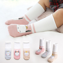 3Pairls/Lot New Baby Socks Newborn Cartoon Cotton Non-slip High Quality For Boys And Girls