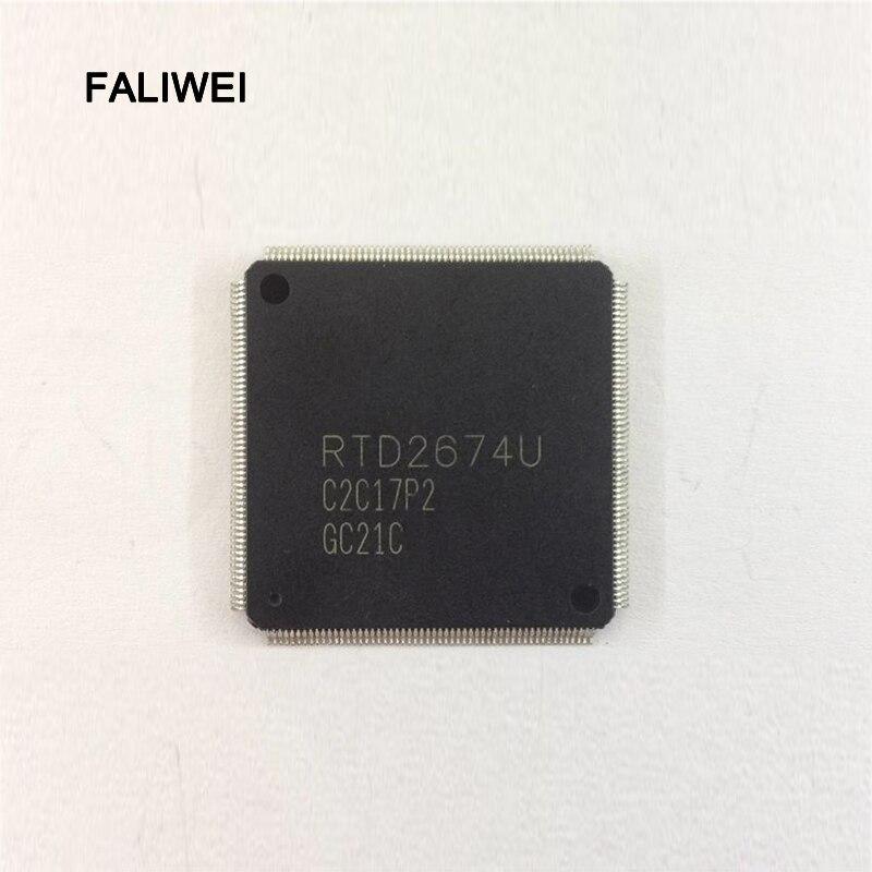 1 Teile/los Rtd2674u Rtd2674u-gr Qfp Laptop Chips 100% Neue Original Zahlreich In Vielfalt