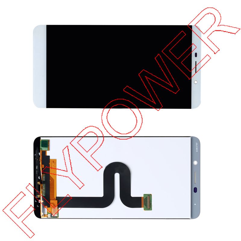 100% warranty LCD Screen display with White Touch Digitizer Assembly For Letv le 1 MAX X900 by free shipping for jiayu s2 lcd screen display with white touch screen digitizer assembly by free shipping 100