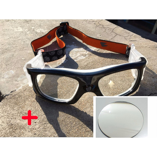 d3f042896eaee Stgrt Fashionable Prescription Airsoft Sports Goggles Black Color For Adult  Can Put Diopter Lens For Soccer Basketball Trainning