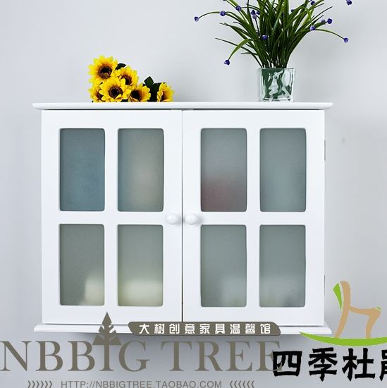 Free Shipping Bathroom Cabinet Sliding Door Hanging Wall Cabinets