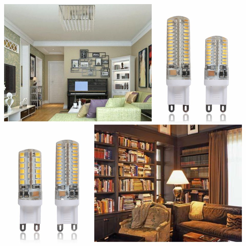 G9 LED Lamp 7W 9W 10W 11W Corn Bulb AC 220V SMD 2835 3014 48 64 96 104Leds Lampada LED light 360 degrees Replace Halogen Lamp 6