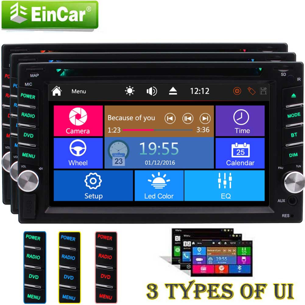 Car Stereo in dash 2 din Automotive Autoradio Bluetooth Car dvd player Double 2 Din 6.2 inch Video FM/AM Radio Video FM/AM/RDS виниловая пластинка creedence clearwater revival mardi gras
