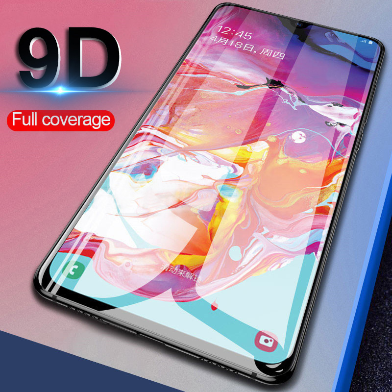 9D Glass For Samsung Galaxy A50 A20 A10 A40 A30 S A30S A50s 3D Tempered Glass On For Samsung A 50 Safety Pelicula De Vidro Films