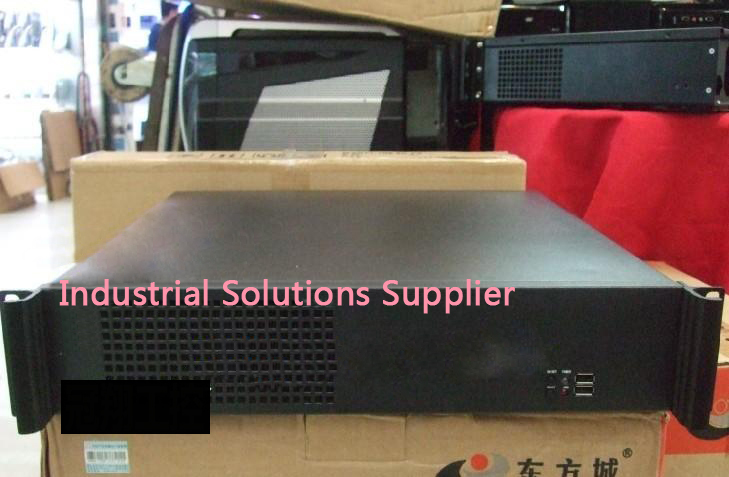 NEW 2u computer case industrial computer case 450mm 2u server short box pc large-panel big po w er supply