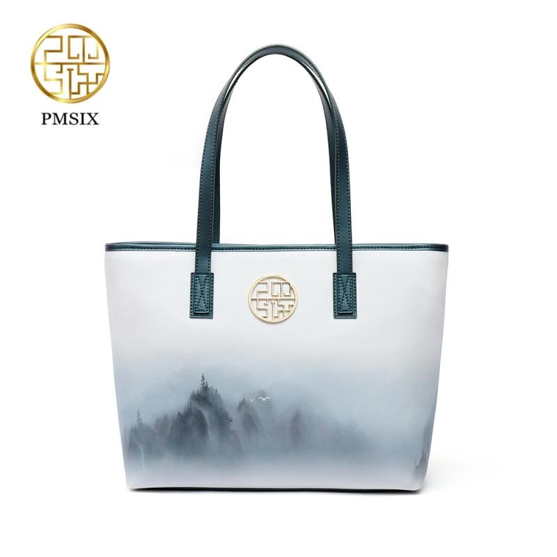 Pmisx 2018 New PU Leather Women Handbag Bolsas Fashion Famous Brands Women Top-Handle Bags Ladies Bolsas Femininas Sac P140018 женские блузки и рубашки hi holiday roupas femininas blusa blusas femininas