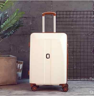 Cabine bagage 20 inch 24 inch rolling bagage Case Spinner Case Trolley Koffer Vrouwen Reizen Bagage Koffer wielen Koffer