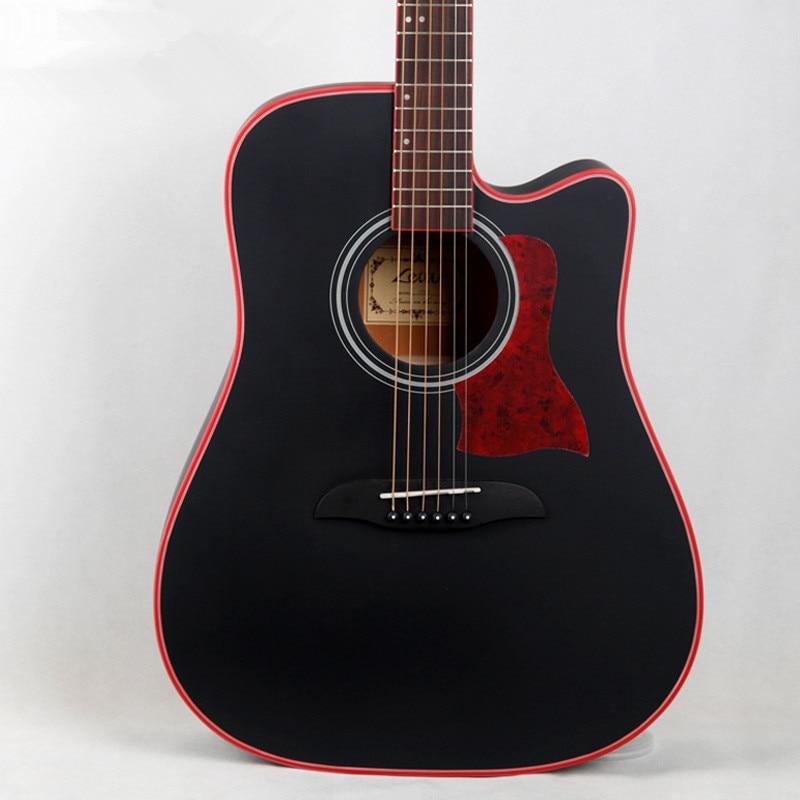 40inch 41inch Acoustic Folk Guitar Picea Asperata Material For Beginner телевизор жк supra stv lc40t440fl 40