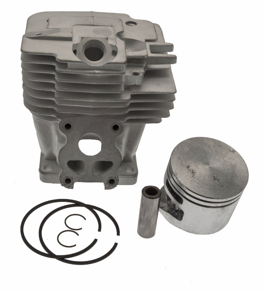 50MM MS441 CYLINDER KIT FITS ST. MS441C 2 STROKE CHAINSAW ZYLINDER ASSEMBLY W/ PISTON RING SET PIN CLIPS ASSY 1138 020 1201 cylinder kit 42mm for st chainsaw 024 ms240 chain saw zylinder piston ring pin clips kolben repl 1121 020 1212