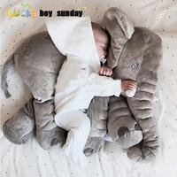 INS Hot Soft Plush Toys Stuffed Elephant Baby Doll Kids Toy Big Size 60cm Anminal Sleep