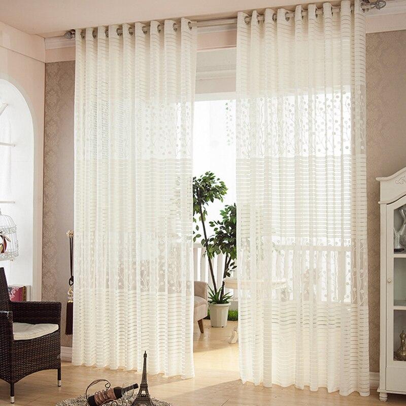 Voilage Salon Moderne