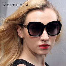2017 New Fashion High quality Lady Tr90 Hd Polarized Sunglasses Retro Big Size with Gift Box Free Shipping