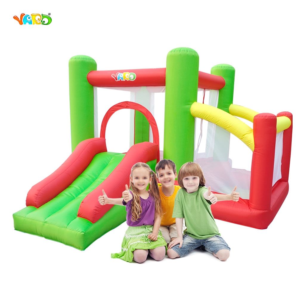 Outdoor Inflatable Jumping Castle Inflatable And Ocean Ball Pool Juego Inflable Amusement Park Bounce Castle Bouncy House