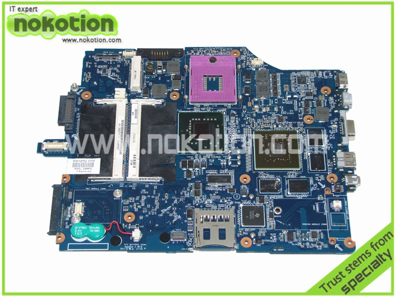 A1369752A MBX-165 Laptop Motherboard for Sony Vaio VGN-FZ21Z 256Mb Motherboard MS91 GeForce 8600M DDR2 965PM Mainboard