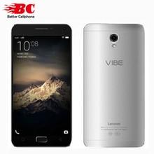 Оригинал Lenovo Vibe P1 C58 4 Г Сотовый Телефон Snapdragon 615 Octa Ядро 1.5 ГГц Android 6.0 1920×1080 P 5.5 »2GB RAM 16 ГБ 13.0MP камера
