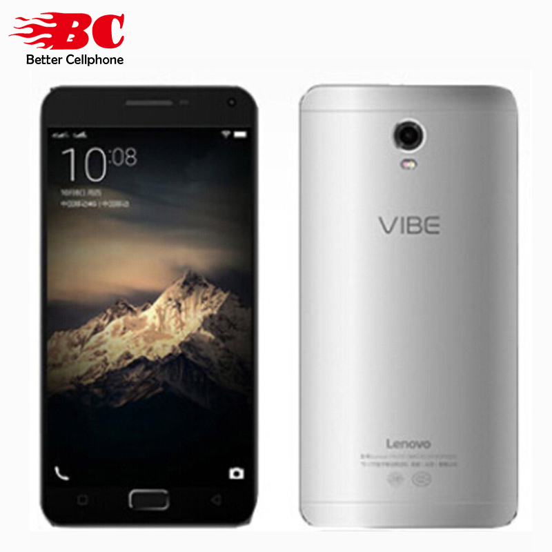 Original Lenovo Vibe P1 C58 4G Cell Phone Snapdragon 615 Octa Core 1.5GHz Android 6.0 1920x1080p 5.5''2GB RAM 16GB 13.0MP Camera