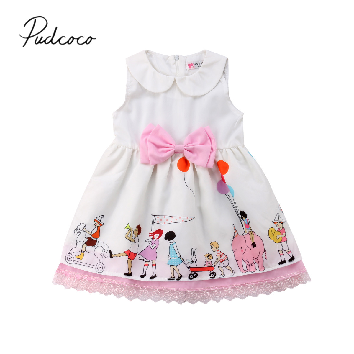 2018 Brand New Princess Summer Toddler Baby Girls Dress