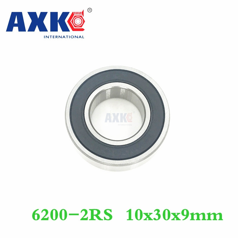 Axk Free Shipping 1pcs 6200-2rs 10x30x9mm Hybrid Ceramic Si3n4 Ball Bearings/bike Bearings 6200 Rs axk free shipping 1pcs 6901 2rs hybrid ceramic si3n4 ball 61901 ceramic bearing 12 24 6mm 6901 2rs
