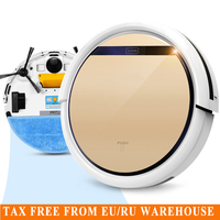 Hot V5s Pro Intelligent Robot Vacuum Cleaner With 1000PA Suction Dry And Wet Mopping