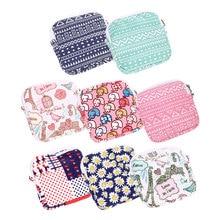 1pc Multi-functional Wet Bag Reusable Napkin Bag for Cloth Pads Menstrual Pad Sanitary Pads Bags Coin Makeup Bag Makeup Tool Kit