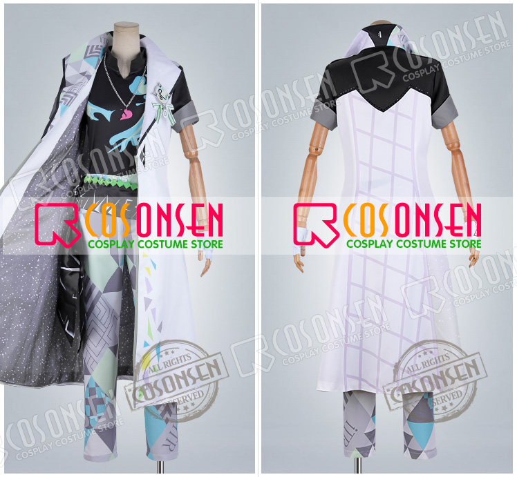 Idolish7 1st LIVE Road To Infinity Yuki Cosplay Costume new Full Set All Sizes COSPLAYONSEN adult costume