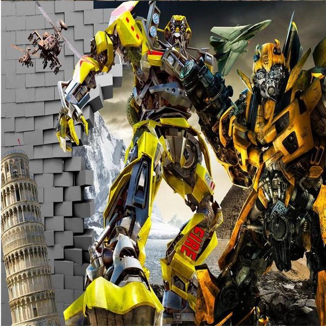 Bumblebee And Optimus Wallpaper 3d Image Num 32