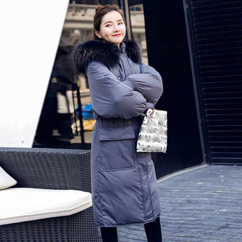 noir Manteau gris Taille Grande Beige Femmes Parka Veste De 2018 Capuche Femme Canard À Long Chaud Duvet Nouvelle Down Blanc D'hiver Avec R1w1qYS