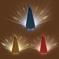 Современные Творческий Утюг светодиодные бра моды павлин настенные бра прикроватной тумбочке светильники для дома Освещение помещении ка