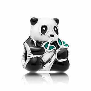 AIFEILI Personality Bead Pendant Necklace DIY Suitable for Pandora Bracelet Women Jewelry European Charm Panda Mickey Green